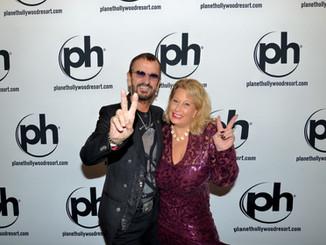 Ringo Star and Ali Savitch