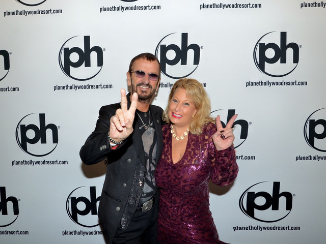 Ringo Star and Ali Savitch