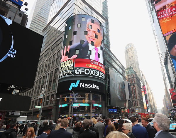 Clint Arthur on NASDAQ Jumbotron.jpg