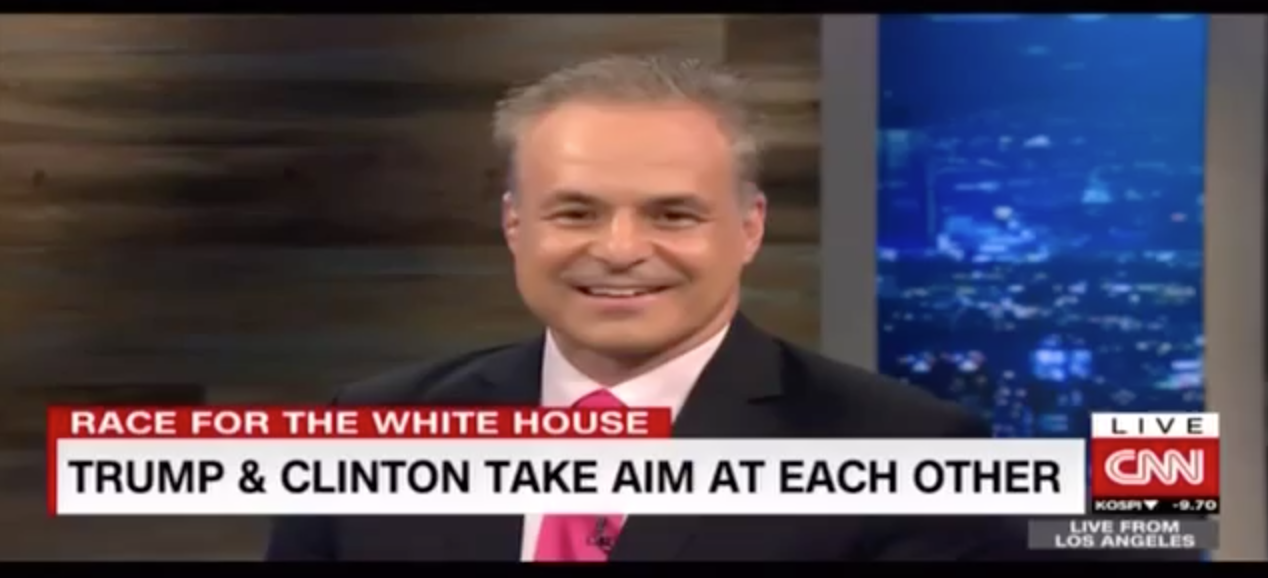Clint Arthur on CNN International