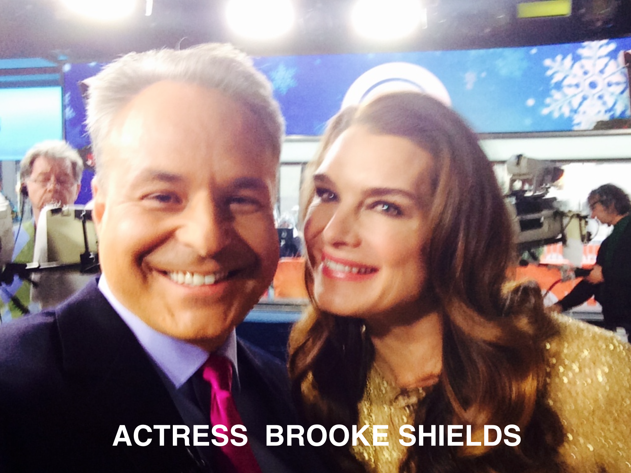 Clint Arthur & Brooke Shields