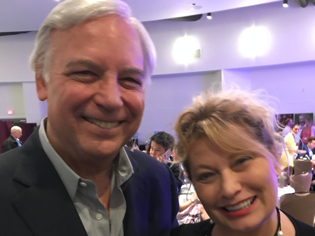 Jack Canfield and Ali Savitch