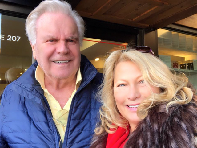 Ali Savitch and Robert Wagner