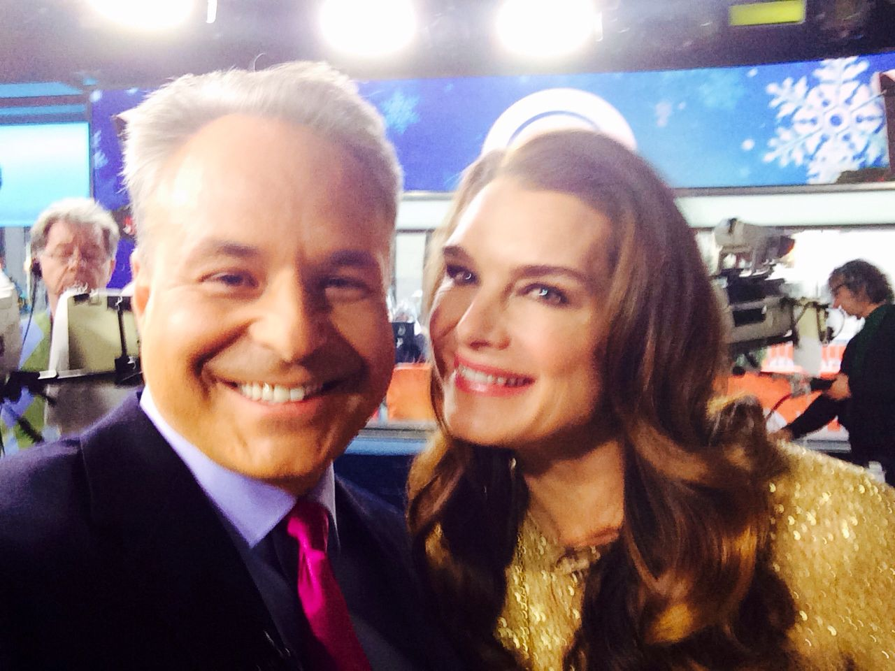 Clint Arthur and Brooke Shields