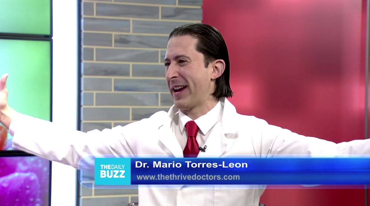Dr. Mario Torres-Leon on Daily Buzz