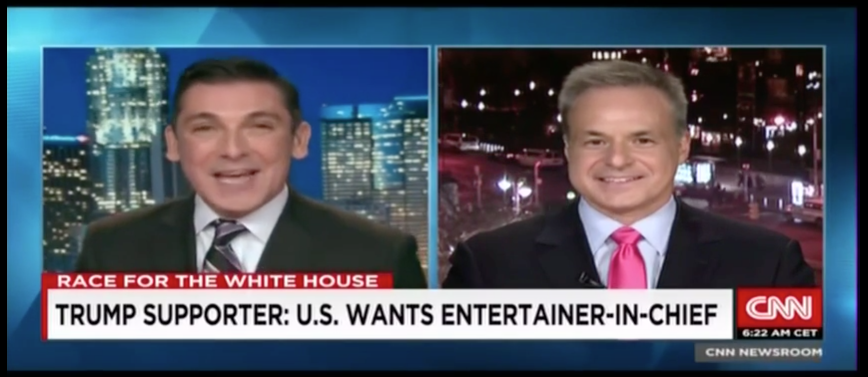 John Vause & Clint Arthur on CNN