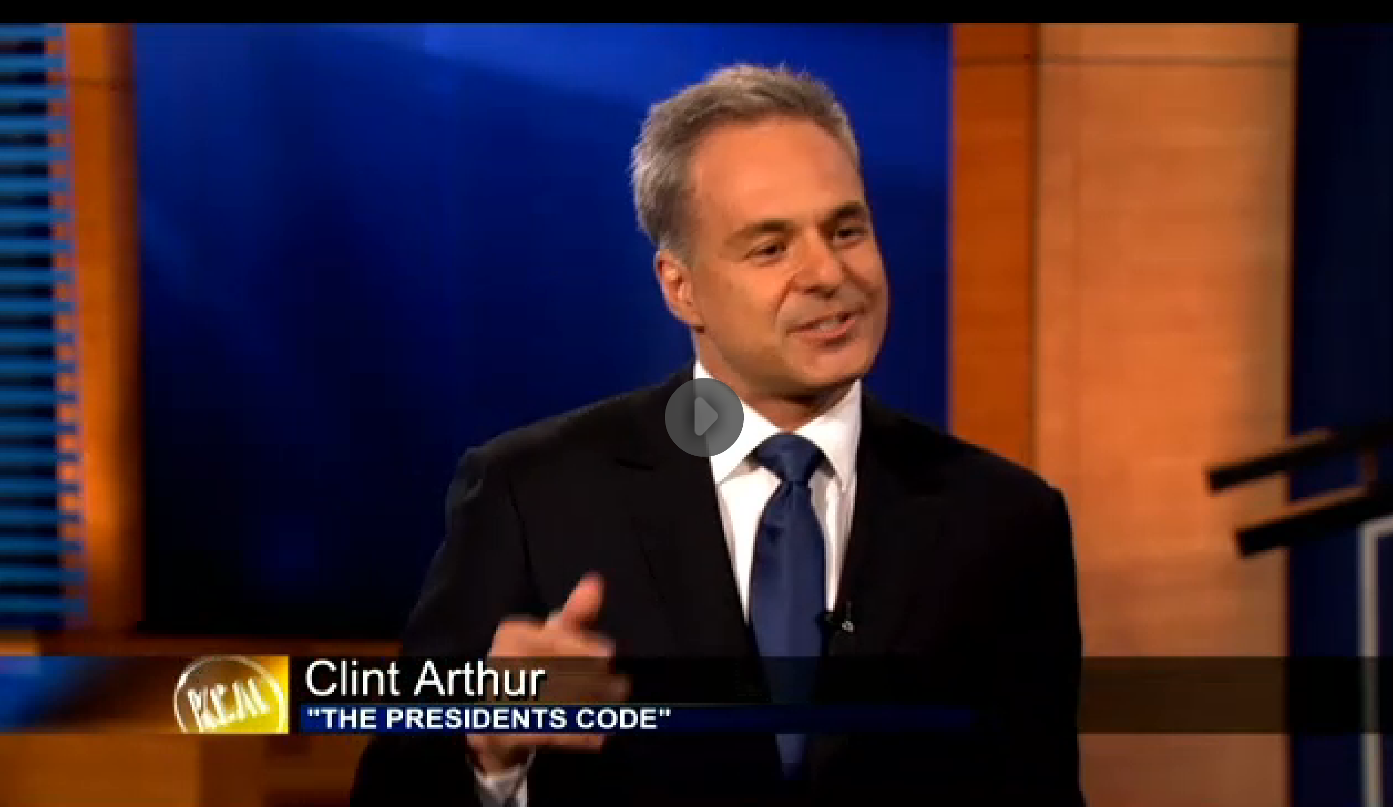 Clint Arthur on KCAL Los Angeles