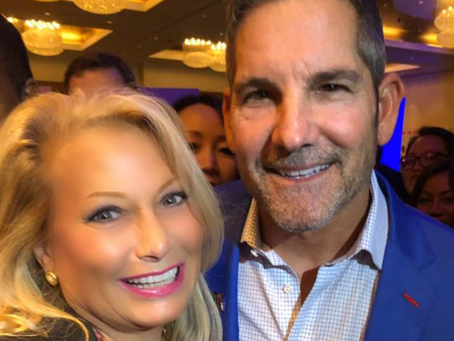 Ali Savitch and Grant Cardone