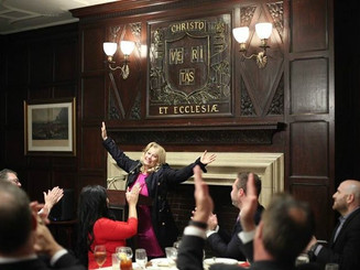 Ali Savitch speaks at Harvard Club of New York City