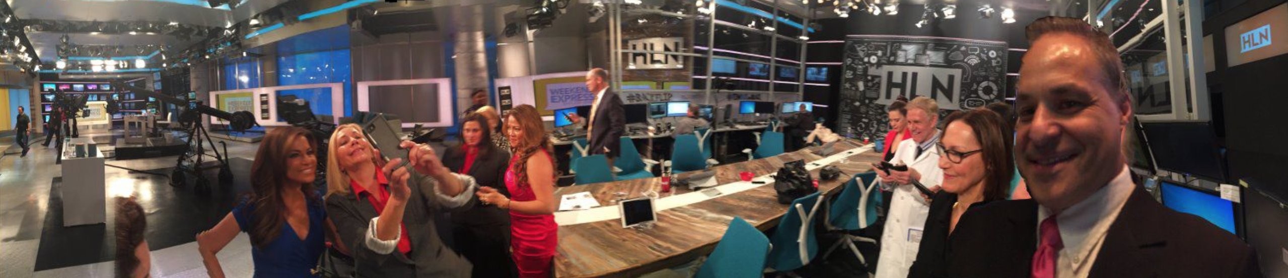 Celebrity Launchpad at CNN