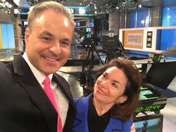 Clint Arthur & Joyce Gioia at CNN
