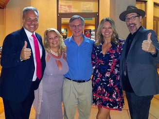 """Ali Savitch and the production team of her Documentary """"Celebrity Entrepreneur"""""""