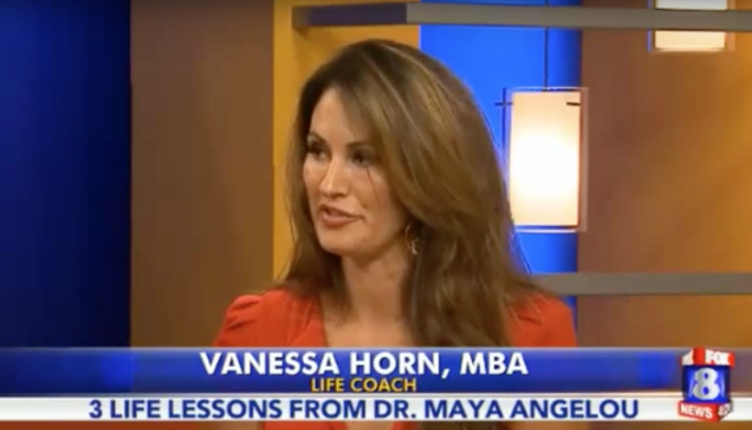 Vanessa Horn on Fox 8