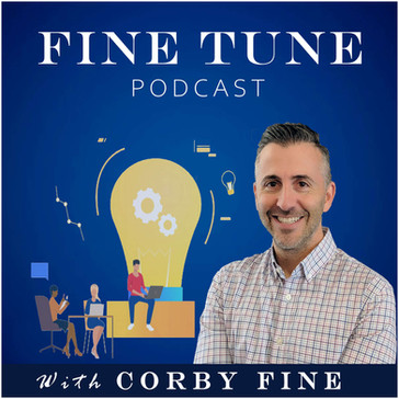 text-talk with Corby Fine, podcaster