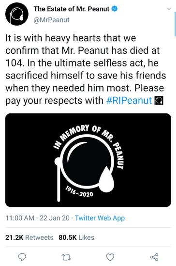 ADdicted: The Estate of Mr. Peanut
