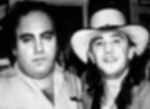 Clifford Antone - Stevie Ray Vaughn B&W.