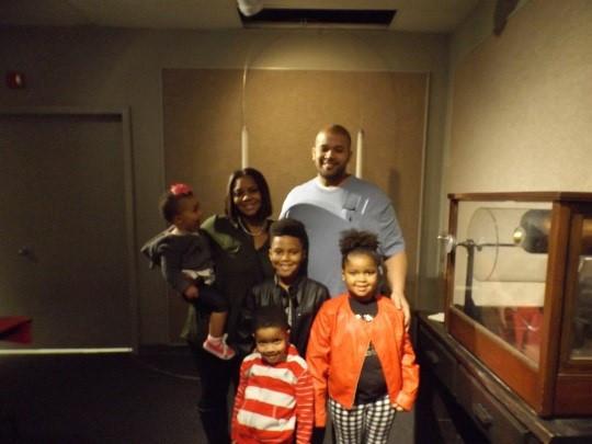 Port Arthur Mayor Derrick Freeman and family