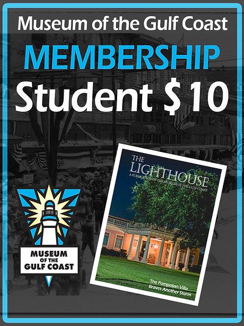 Student Membership $10