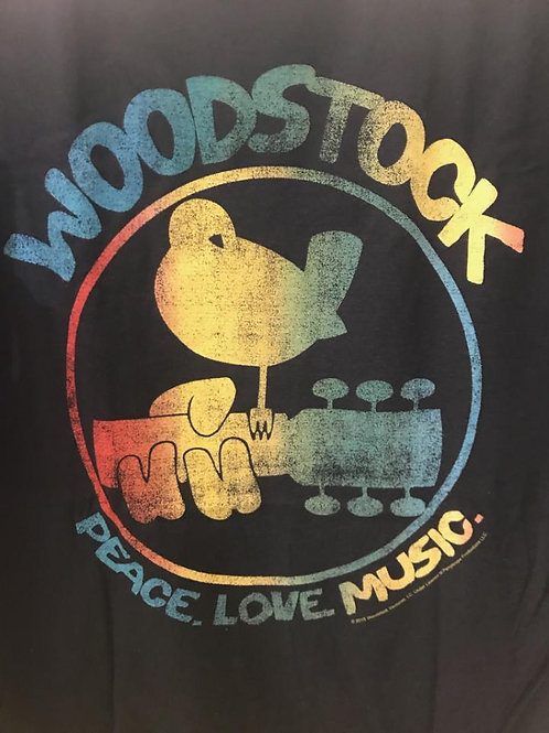Woodstock T-Shirt, Black (men's cut)