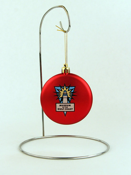 Museum of the Gulf Coast Christmas Ornament