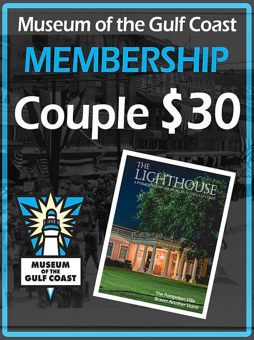 Couple's Membership $30
