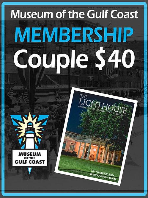 Couple's Membership $40