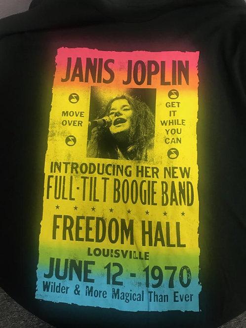 """Janis Joplin T-Shirt """"Full-Tilt Boogie Band"""""""
