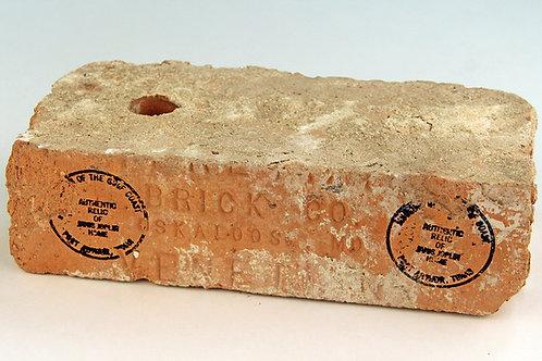 Brick from childhood home of Janis Joplin