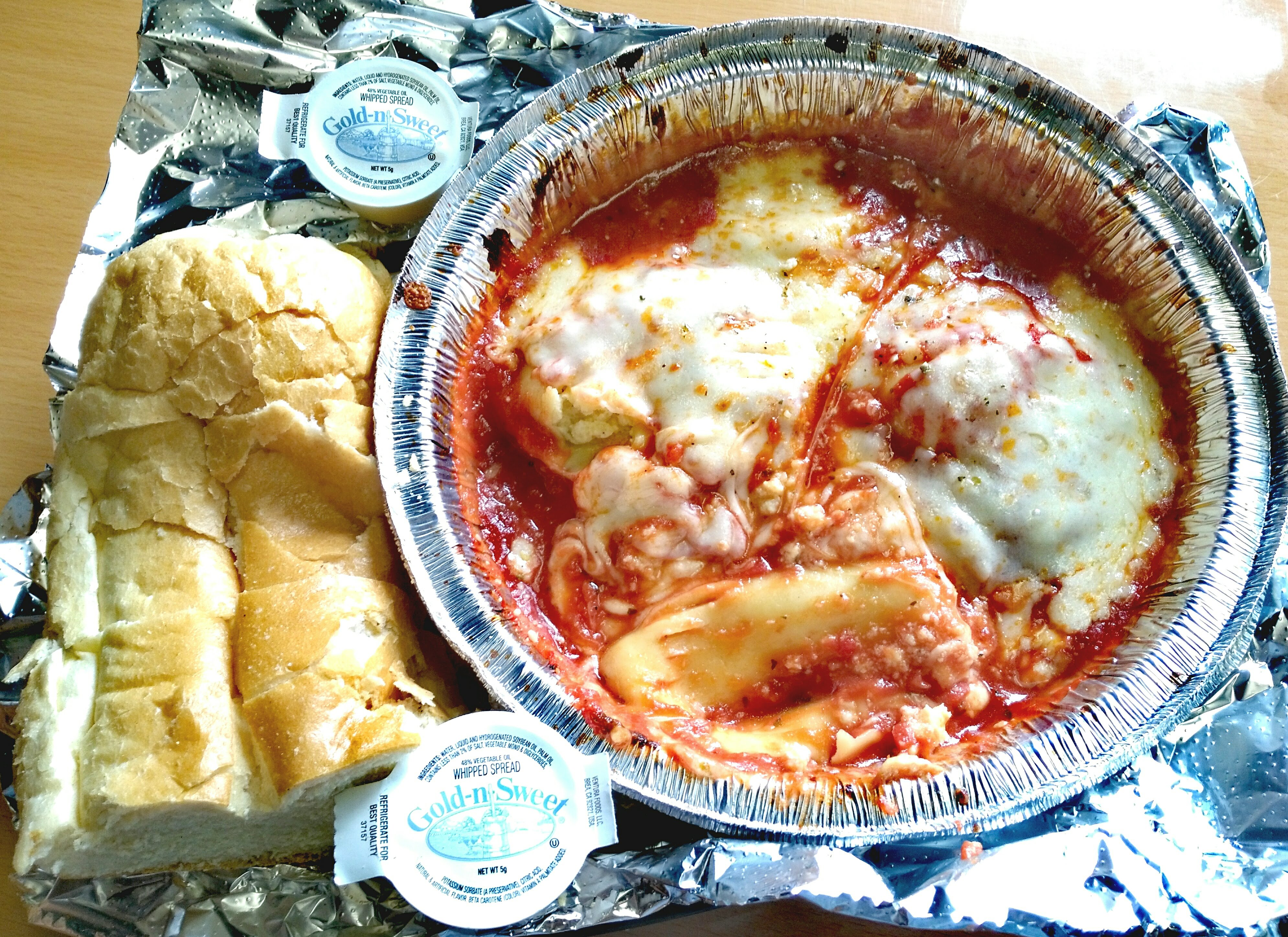 Raviolis with Cheese
