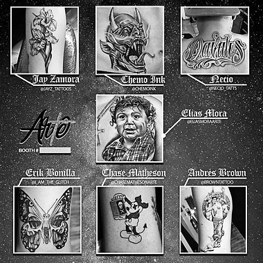 Brand design for Arte Tattoo Studios