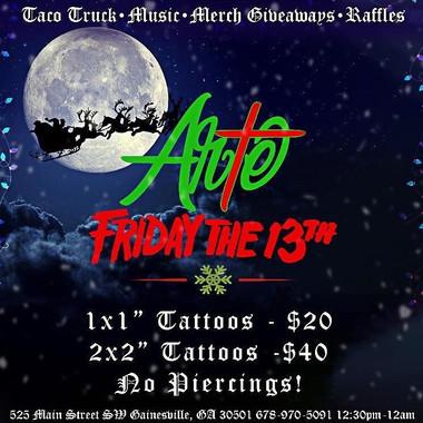 Brand design for Arte Tattoo Studios