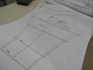 Impression de patrons de couture chez Grégoire! Impression sur papier blanc standard.