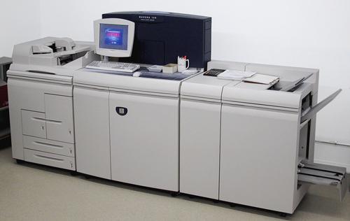 Xerox black and white