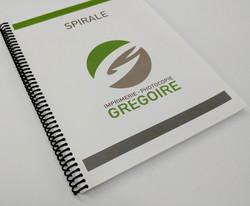Faites imprimer et relier en spirale vos documents, quelle que soit la grandeur de votre projet.