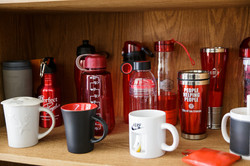 Cups, thermos and bottles