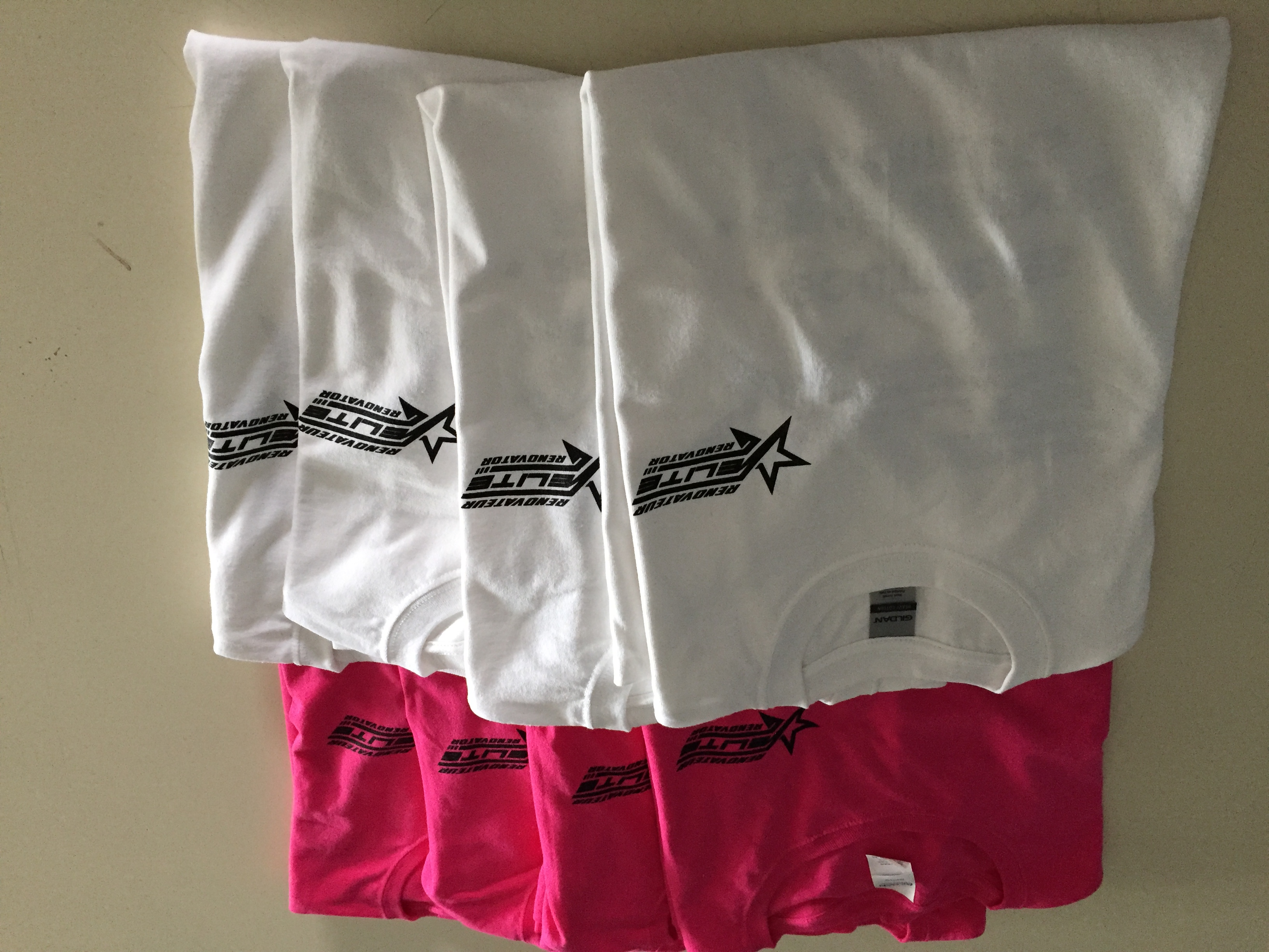Tshirts coton - Sérigraphie