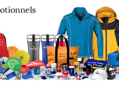Les objets promotionnels - de tout pour tous les goûts!