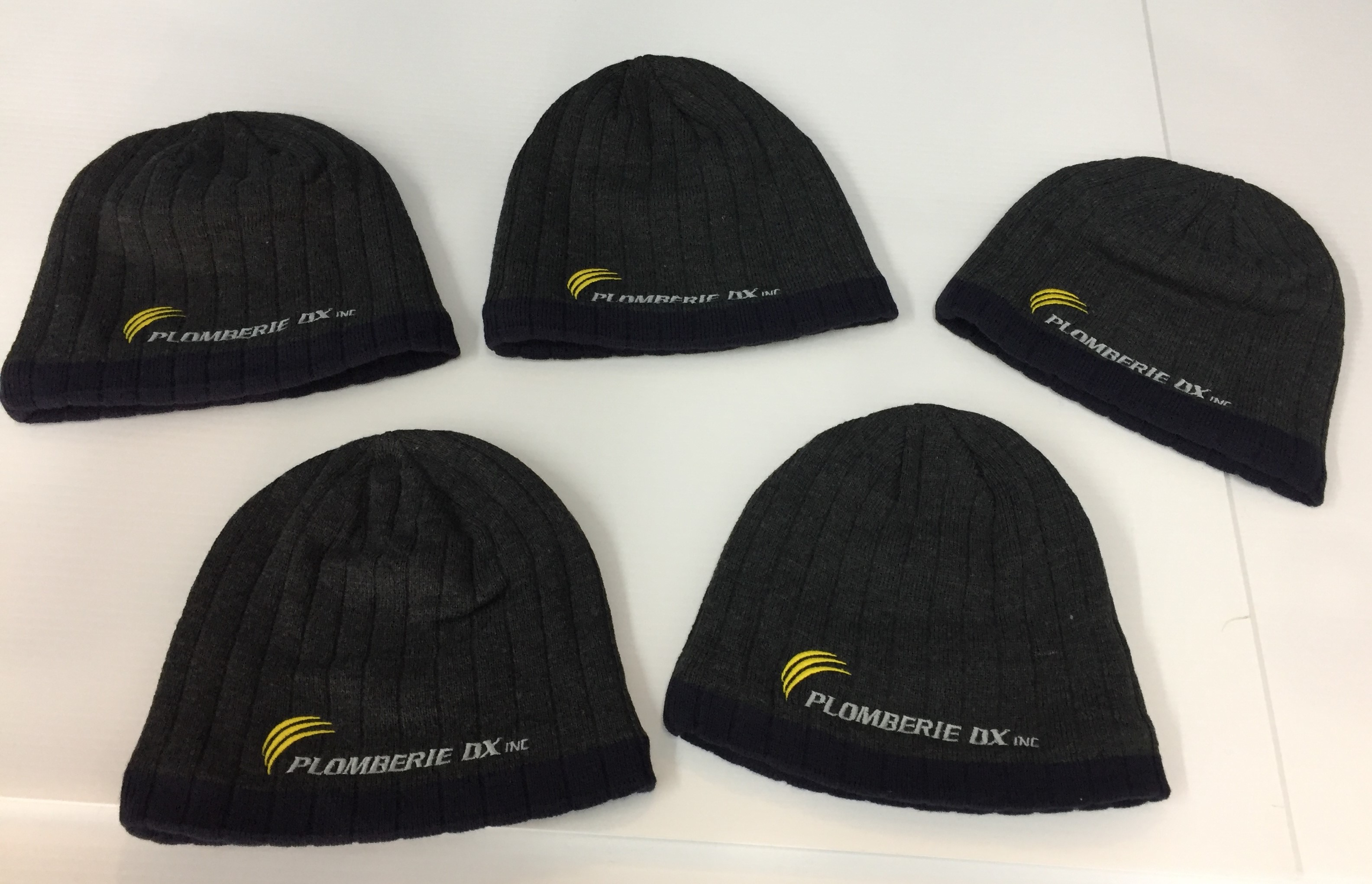 Tuques - broderie