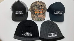 Tuques - casquettes - Broderie