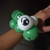 Turtle balloon animal Toronto