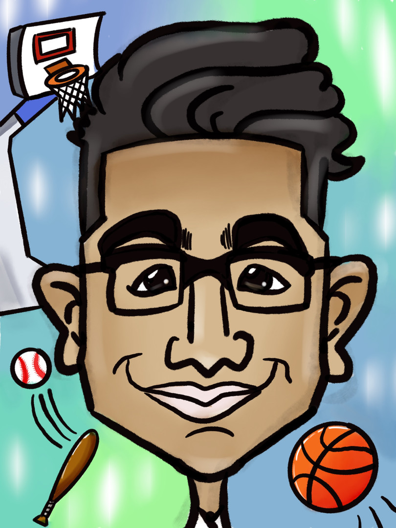 Caricature colour in-home