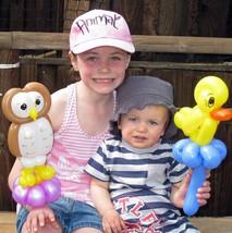 Owl and Duck Balloon Animals Toronto