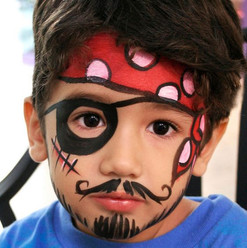 pirate face painting Vaughan