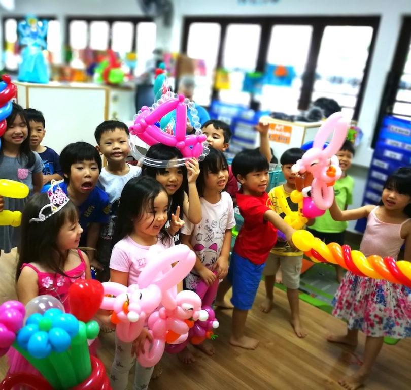 Balloon twisting Toronto School