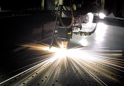 Laser cutting parts and blanks at GP PRECISION sheet metal