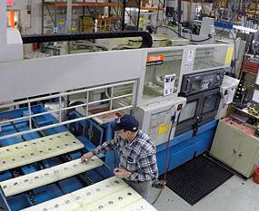 Roberts Automatics has Mazak CNC machines