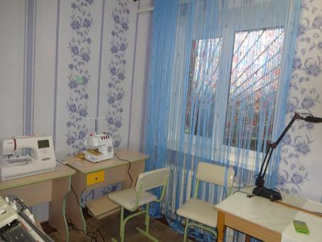 Відкриття швейної майстерні у Знамянському дитячому будинку