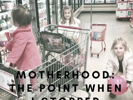 Motherhood: The Point When I Stopped Caring About the {Noise}
