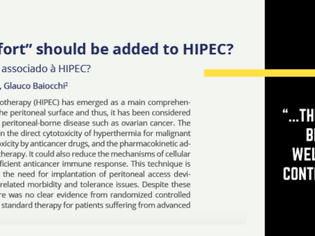 How much surgical effort with HIPEC?