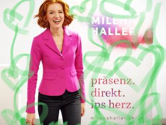 Milena Haller an der Denkwiese Nacht '18 auf dem Gurten